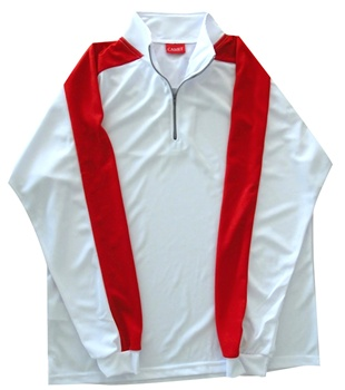 Code Zip Performance Shirt Red w/White